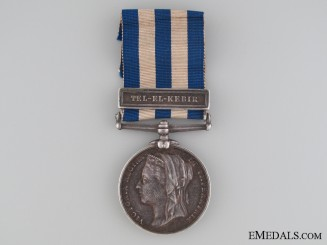 An Egypt Medal 1882-1889 to the 2nd Battalion Seaforth Highlanders