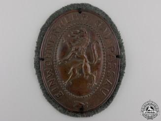 An Einwohnerwehr Freikorps Badge; Gau Passau