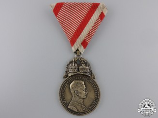 An Emperor Karl Golden Military Medal for Most Conspicuous Bravery.