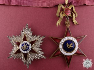 An Equestrian Order of the Star of Peace; Grand Officer Set by E.Gardino