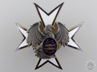 Estonia. A Kaitseliit Defence Force Badge, by Roman Tavast, c.1940