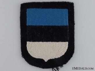 An Estonian Waffen-SS Volunteer's Shield