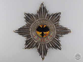 Prussia, Kingdom. An Order of the Black Eagle, Embroidered Star, c.1830