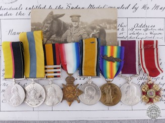 United Kingdom. An Extensive Order of Stanislaus Group to the Army Veterinary Corps