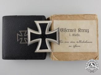An First Class Iron Cross 1939 by B.H. Mayer with Case & Carton