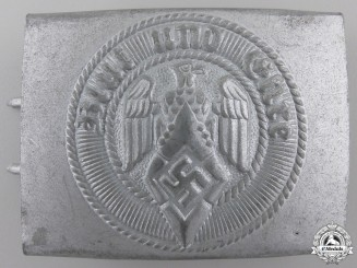 An HJ Members Belt Buckle by Paul Cramer & Co