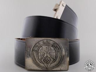 An HJ Members Belt & Buckle by Assmann