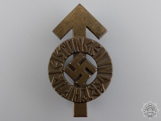 An HJ Proficiency Badge; Bronze Grade