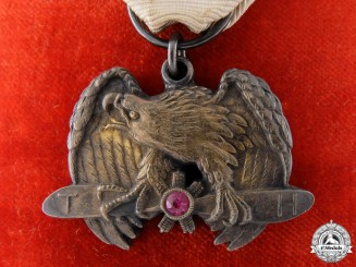 An Imperial Japanese Flying Association Merit Medal