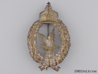 An Imperial Prussian Air Gunner Badge