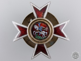 An Imperial Russian Chuguev Military School Badge