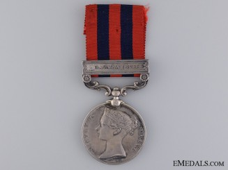United Kingdom. An India General Service Medal 1854-1895, No. 1 Mountain Battery RA
