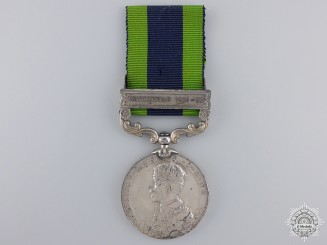 United Kingdom. An India General Service Medal, Nursing Sister