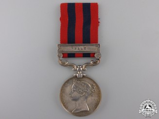 An India General Service Medal to the 1st Battalion, 10th Regiment