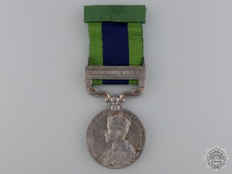 An India Service Medal to the 3rd Sikh Pioneers