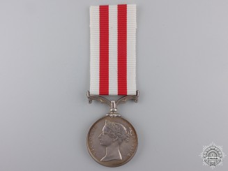 An Indian Mutiny Medal 1857-1858 to Adjutant Stanton; Kumaon Levy