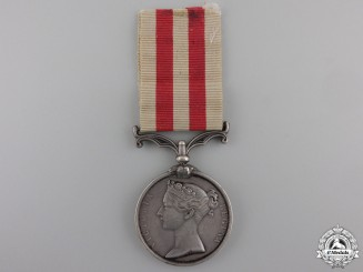 An Indian Mutiny Medal to the 13th (Prince Albert's) Light Infantry