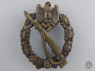 An Infantry Badge Bronze Grade, by Josef Feix & Sohn