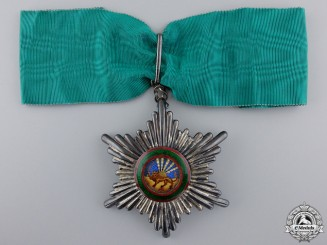 Iran, An Order of Homayoun, Commander's Badge, Military Division, c.1950