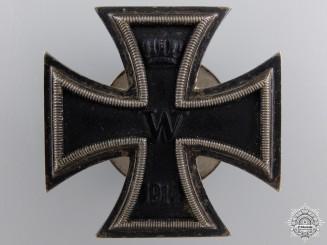 An Iron Cross 1st Class1914; Screw Back Version, L/54