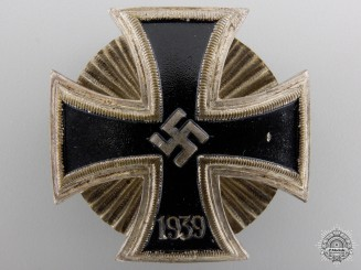 An Iron Cross 1st Class 1939; Schinkel Version by Wilhelm Deumer
