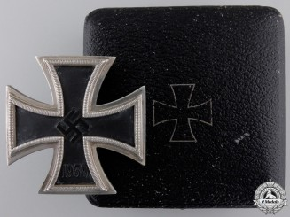An Iron Cross First Class 1939 by Zimmermann