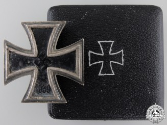 An Iron Cross First Class 1939 by Fritz Zimmermann