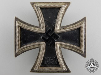 An Iron Cross First Class 1939 by Wilhelm Deumer