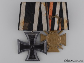 An Iron Cross Second Class 1914 Pair