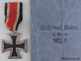 An Iron Cross Second Class 1939 by Moritz Haupt