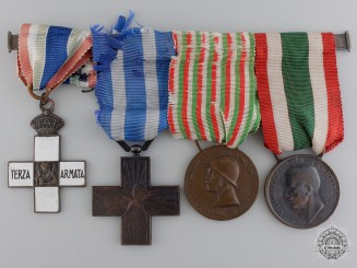 Italy, Kingdom. A 3rd Army Medal Bar, c.1918
