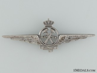 An Italian Air Mechanic Badge