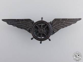 An Italian Airship Pilot's Wings