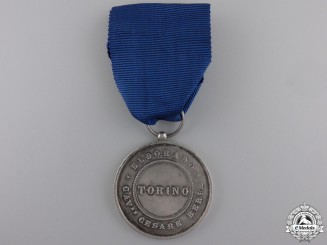 An Italian City of Torino Merit Medal