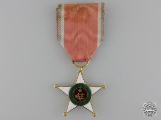An Italian Colonial Merit Order; Knight's Breast Badge