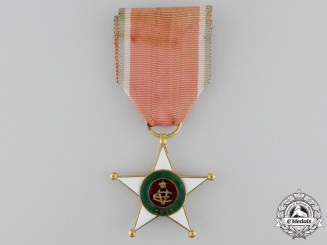 Italy. A Colonial Merit Order; Knight's Breast Badge, c.1920
