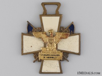 """An Italian East Africa """"Knights of the Group Neghelli"""" Cross"""