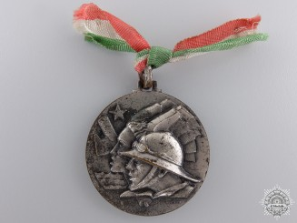 Italy, Fascist State. An Italian-Ethiopian Co-Operation Medal