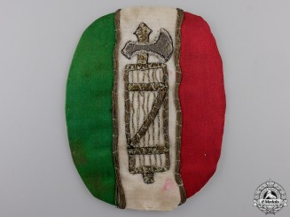 An Italian Fascist Cloth Badge