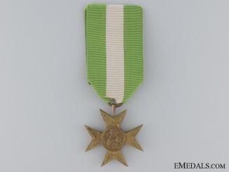 An Italian Long Service Cross for Twenty-Five Years' Service