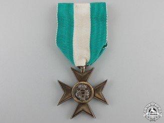 An Italian Long Service Cross for Twenty Five Years' Service