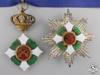 An Italian Military Order of Savoy; Grand Officers Set