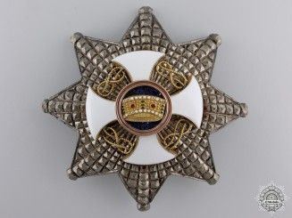 Italy, Kingdom. An Order of the Crown, Commanders Star, by Cravanzola, c.1935