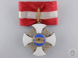 An Italian Order of the Crown; Commander's
