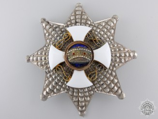 An Italian Order of the Crown; Commanders Breast Star