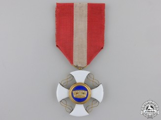 An Italian Order of the Crown; Knight's Cross