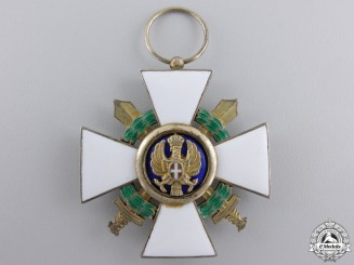 An Italian Order of the Roman Eagle, Knight; Military 1942-1943