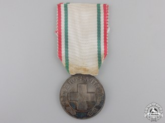 Italy, Kingdom. A Red Cross Merit Medal, c.1918