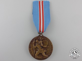 Italy. A School of Motorization Medal, c.1938