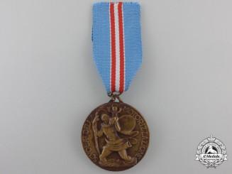 Italy. A School of Motorization Medal, c.1938
